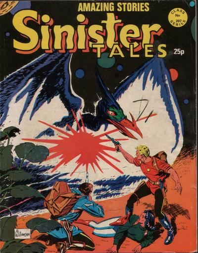 Cover for Sinister Tales (Alan Class, 1964 series) #207