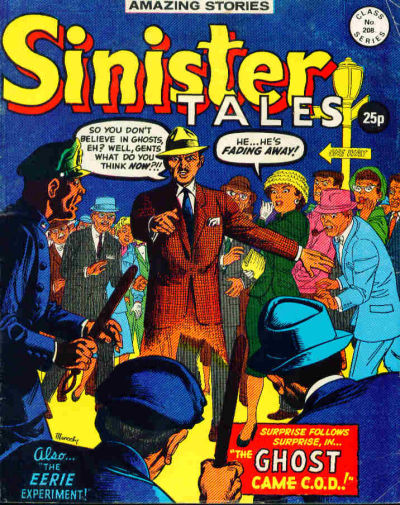 Cover for Sinister Tales (Alan Class, 1964 series) #208