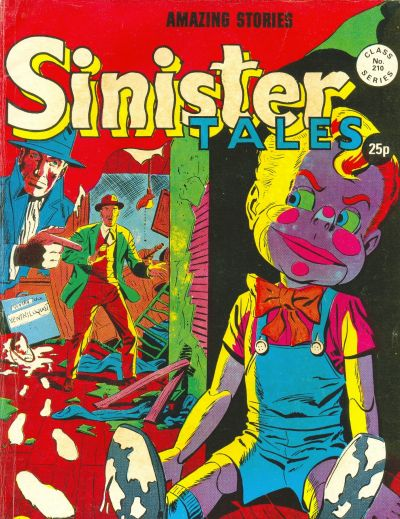 Cover for Sinister Tales (Alan Class, 1964 series) #210