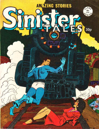 Cover for Sinister Tales (Alan Class, 1964 series) #214