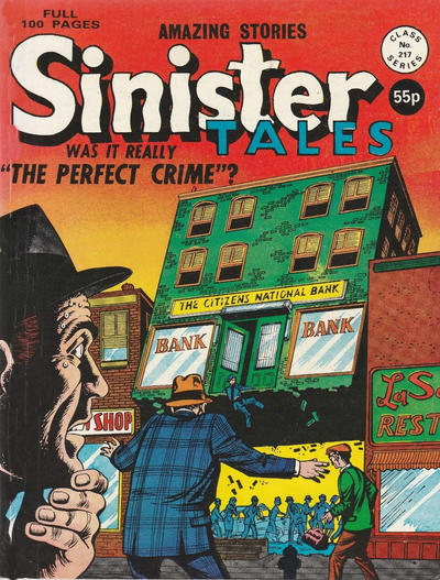 Cover for Sinister Tales (Alan Class, 1964 series) #217