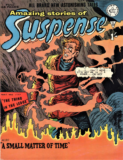Cover for Amazing Stories of Suspense (Alan Class, 1963 series) #30
