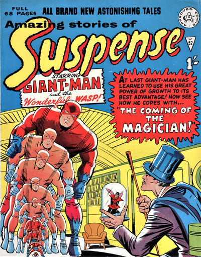 Cover for Amazing Stories of Suspense (Alan Class, 1963 series) #52