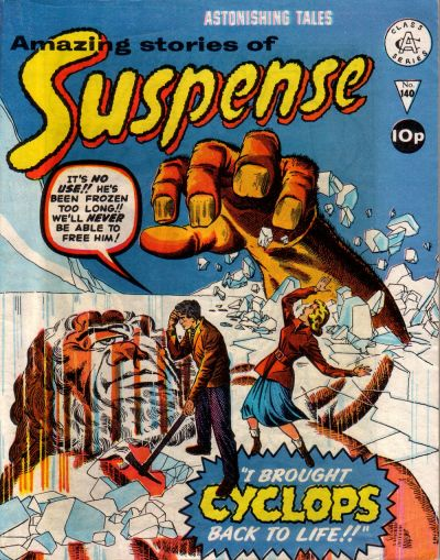 Cover for Amazing Stories of Suspense (Alan Class, 1963 series) #140