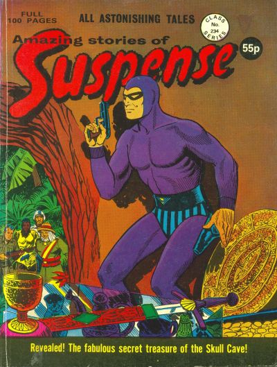 Cover for Amazing Stories of Suspense (Alan Class, 1963 series) #234