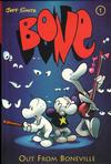 Cover for Bone (Cartoon Books, 1995 series) #1 - Out from Boneville