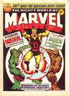 Cover for The Mighty World of Marvel (Marvel UK, 1972 series) #20