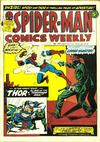 Cover for Spider-Man Comics Weekly (Marvel UK, 1973 series) #20