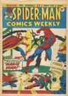 Cover for Spider-Man Comics Weekly (Marvel UK, 1973 series) #23