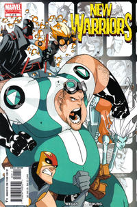 Cover Thumbnail for New Warriors (Marvel, 2005 series) #1