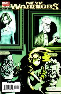Cover Thumbnail for New Warriors (Marvel, 2005 series) #5