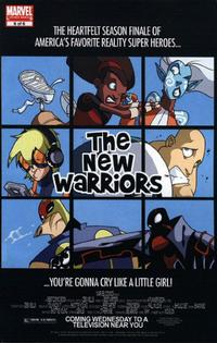 Cover Thumbnail for New Warriors (Marvel, 2005 series) #6