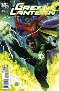 Cover Thumbnail for Green Lantern (DC, 2005 series) #16
