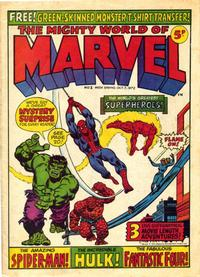 Cover Thumbnail for The Mighty World of Marvel (Marvel UK, 1972 series) #1