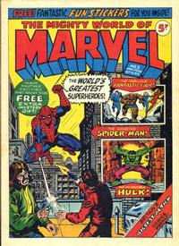 Cover Thumbnail for The Mighty World of Marvel (Marvel UK, 1972 series) #3
