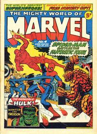 Cover Thumbnail for The Mighty World of Marvel (Marvel UK, 1972 series) #4