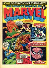 Cover Thumbnail for The Mighty World of Marvel (Marvel UK, 1972 series) #6