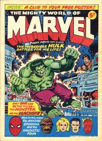 Cover Thumbnail for The Mighty World of Marvel (Marvel UK, 1972 series) #7
