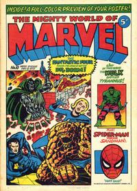 Cover Thumbnail for The Mighty World of Marvel (Marvel UK, 1972 series) #10