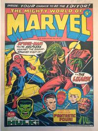 Cover Thumbnail for The Mighty World of Marvel (Marvel UK, 1972 series) #12