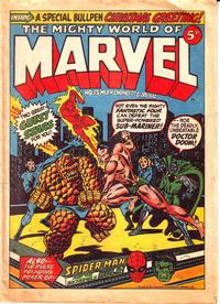 Cover Thumbnail for The Mighty World of Marvel (Marvel UK, 1972 series) #13