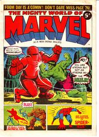Cover Thumbnail for The Mighty World of Marvel (Marvel UK, 1972 series) #14