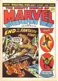 Cover Thumbnail for The Mighty World of Marvel (Marvel UK, 1972 series) #19