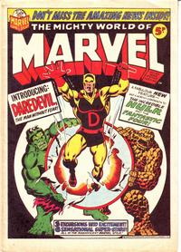 Cover Thumbnail for The Mighty World of Marvel (Marvel UK, 1972 series) #20