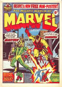 Cover Thumbnail for The Mighty World of Marvel (Marvel UK, 1972 series) #23