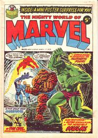 Cover Thumbnail for The Mighty World of Marvel (Marvel UK, 1972 series) #24