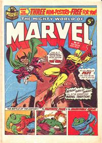 Cover Thumbnail for The Mighty World of Marvel (Marvel UK, 1972 series) #25