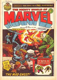 Cover Thumbnail for The Mighty World of Marvel (Marvel UK, 1972 series) #26