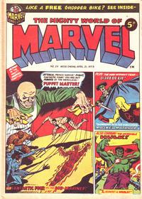 Cover Thumbnail for The Mighty World of Marvel (Marvel UK, 1972 series) #29