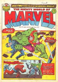 Cover Thumbnail for The Mighty World of Marvel (Marvel UK, 1972 series) #34