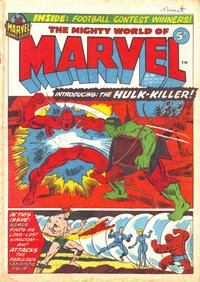 Cover Thumbnail for The Mighty World of Marvel (Marvel UK, 1972 series) #36
