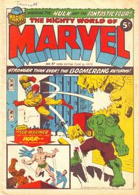 Cover Thumbnail for The Mighty World of Marvel (Marvel UK, 1972 series) #37