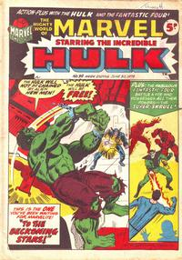 Cover Thumbnail for The Mighty World of Marvel (Marvel UK, 1972 series) #39