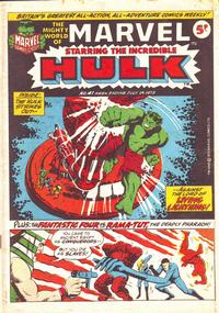 Cover Thumbnail for The Mighty World of Marvel (Marvel UK, 1972 series) #41