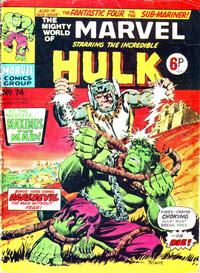 Cover Thumbnail for The Mighty World of Marvel (Marvel UK, 1972 series) #74