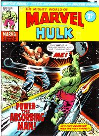 Cover Thumbnail for The Mighty World of Marvel (Marvel UK, 1972 series) #84