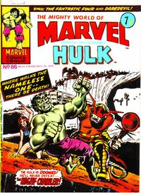 Cover Thumbnail for The Mighty World of Marvel (Marvel UK, 1972 series) #86