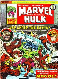 Cover Thumbnail for The Mighty World of Marvel (Marvel UK, 1972 series) #88