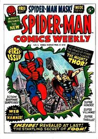 Cover Thumbnail for Spider-Man Comics Weekly (Marvel UK, 1973 series) #1