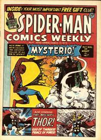 Cover Thumbnail for Spider-Man Comics Weekly (Marvel UK, 1973 series) #5