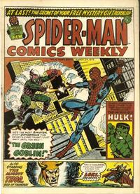 Cover Thumbnail for Spider-Man Comics Weekly (Marvel UK, 1973 series) #6
