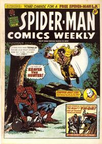 Cover Thumbnail for Spider-Man Comics Weekly (Marvel UK, 1973 series) #7