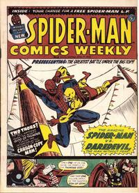 Cover Thumbnail for Spider-Man Comics Weekly (Marvel UK, 1973 series) #8