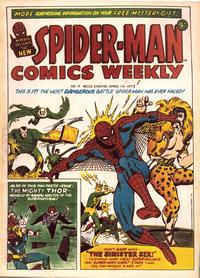 Cover Thumbnail for Spider-Man Comics Weekly (Marvel UK, 1973 series) #9