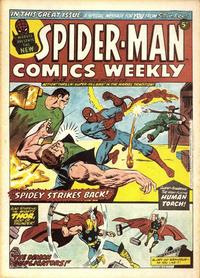 Cover Thumbnail for Spider-Man Comics Weekly (Marvel UK, 1973 series) #13