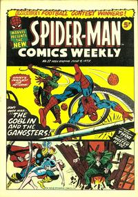 Cover Thumbnail for Spider-Man Comics Weekly (Marvel UK, 1973 series) #17